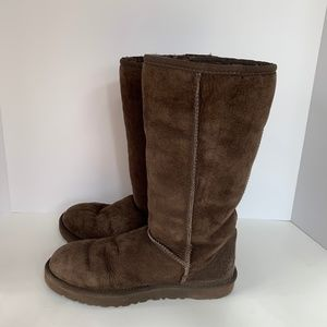 Brown UGG winter Boots with fleece